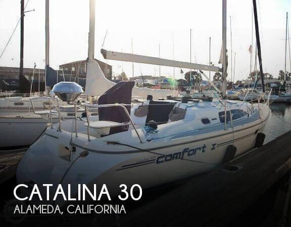 Catalina 309 sailboat in Alameda, California-USA