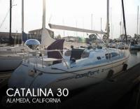 Catalina 309 sailboat in Alameda, California, U.S.A