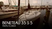 Beneteau 35 S 5 sailboat in Miami, Florida-USA