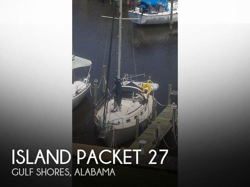 Island Packet 27 sailboat in Gulf Shores, Alabama-USA