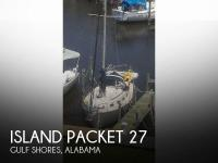 Island Packet 27 sailboat in Gulf Shores, Alabama, U.S.A