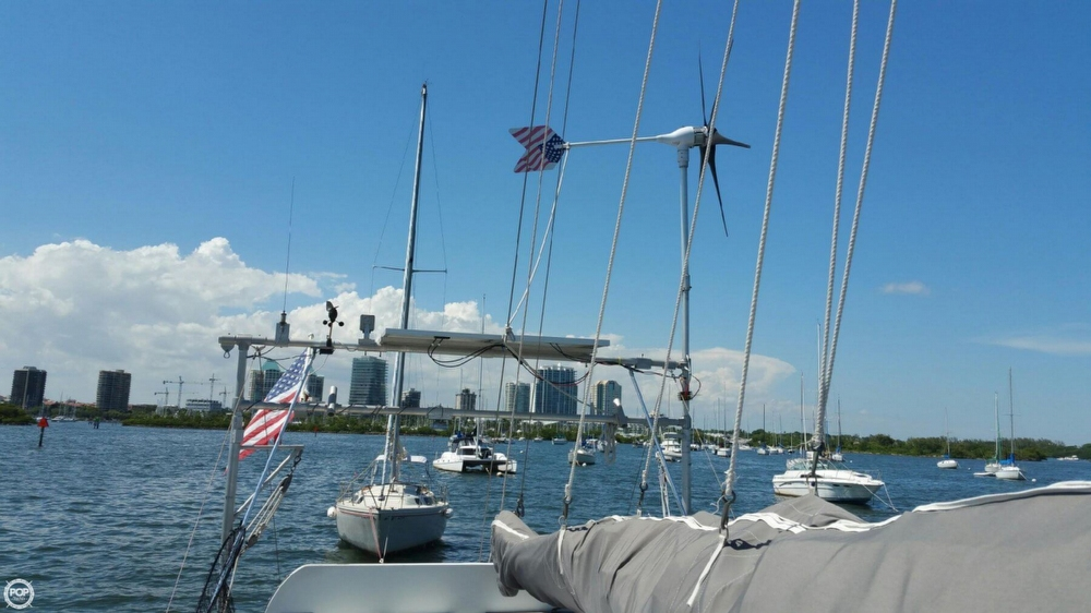 Pearson 390 sailboat in Miami, Florida-USA