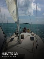Hunter 35.5 Legend sailboat in Key West, Florida-USA