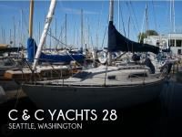 C & C Yachts MK II 28 sailboat in Seattle, Washington-USA