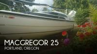 MacGregor 26M sailboat in Portland, Oregon, U.S.A
