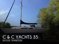C & C Yachts Landfall 35 sailboat in Butler, Tennessee, U.S.A