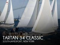Tartan 34 Classic sailboat in South Jamesport, New York, U.S.A
