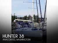 Hunter 38 sailboat in Anacortes, Washington, U.S.A