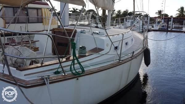 Island Packet 31 sailboat in Naples, Florida-USA