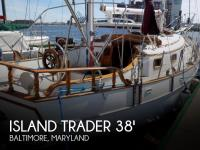 Island Trader 38 Ketch sailboat in Baltimore,, Maryland, U.S.A