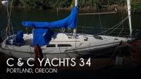 C & C Yachts 34 sailboat in Portland, Oregon, U.S.A