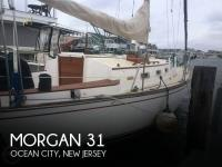 Morgan 323 sailboat in Ocean City, New Jersey, U.S.A