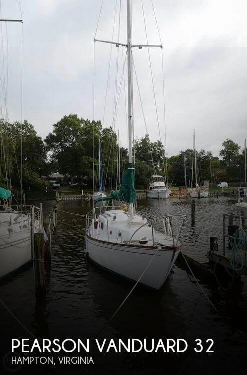 Pearson Vanduard 32 sailboat in Hampton, Virginia-USA