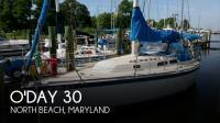 O'Day 30 sailboat in North Beach, Maryland-USA