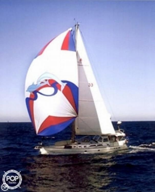 Catalina 470 sailboat in San Diego, California-USA