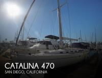 Catalina 470 sailboat in San Diego, California, U.S.A