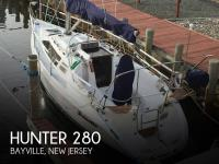 Hunter 280 sailboat in Bayville, New Jersey, U.S.A