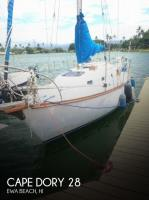Cape Dory 28 sailboat in Ewa Beach, Hawaii, U.S.A