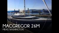 MacGregor 26M sailboat in Mead, Washington, U.S.A