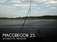 MacGregor 26x sailboat in Wyandotte, Michigan, U.S.A