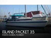 Island Packet 35 sailboat in Punta Gorda, Florida-USA