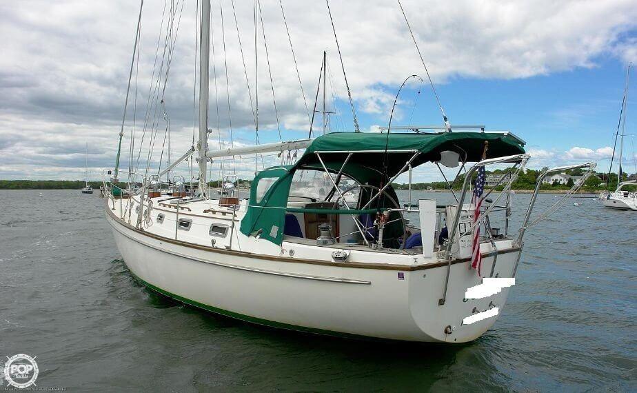 Pearson 424 Cutter- Plan C sailboat in Cataumet, Massachusetts-USA