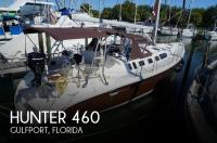 Hunter 460 sailboat in Gulfport, Florida-USA