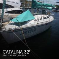 Catalina 320 Wing Keel sailboat in Stock Island, Florida-USA