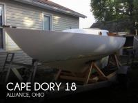 Cape Dory 18 sailboat in Alliance, Ohio, U.S.A
