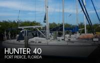 Hunter Legend 40 sailboat in Fort Pierce, Florida-USA