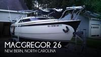 MacGregor 26 sailboat in New Bern, North Carolina, U.S.A