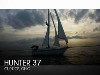Hunter 37 sailboat in Curtice, Ohio, U.S.A