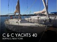 C & C Yachts 40 sailboat in Buffalo, New-York-USA