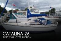 Catalina 26 sailboat in Port Charlotte, Florida-USA