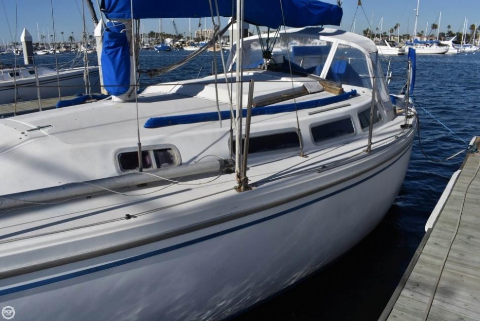 Catalina 30 sailboat in Newport Beach, California-USA