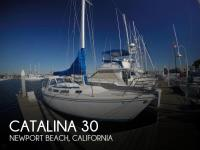 Catalina 30 sailboat in Newport Beach, California-USA