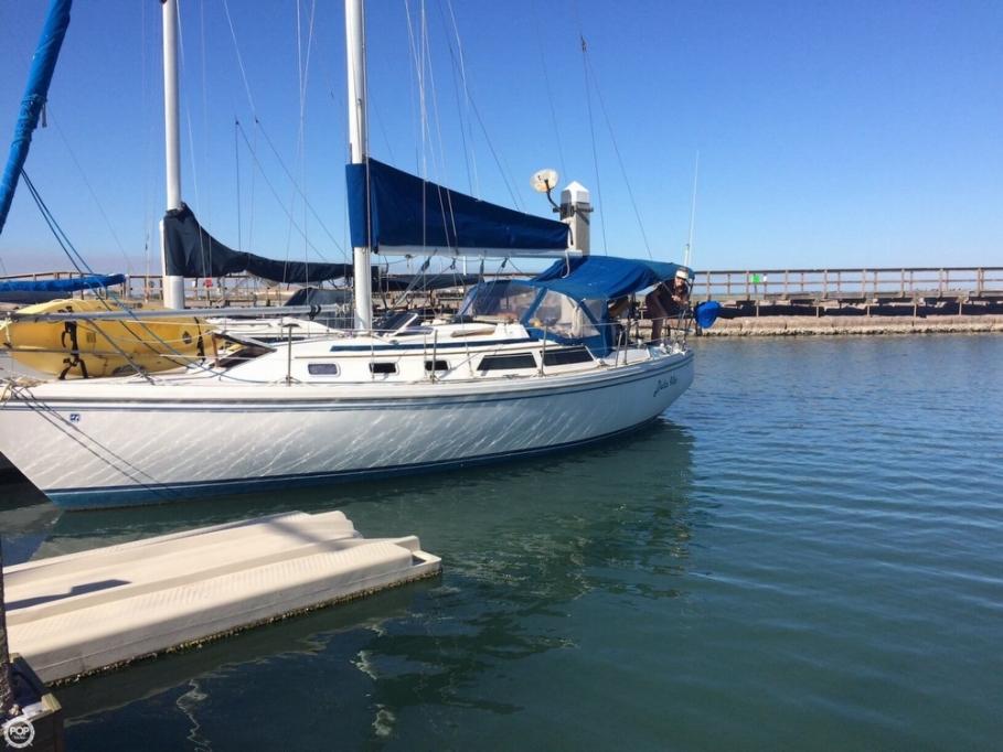 Catalina 34 sailboat in Port Aransas, Texas-USA