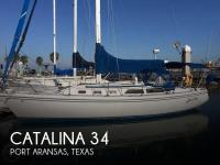 Catalina 34 sailboat in Port Aransas, Texas, U.S.A