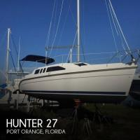 Hunter 27 sailboat in Port Orange, Florida-USA