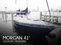 Morgan Out Island 41 Ketch sailboat in Gulfport, Mississippi, U.S.A