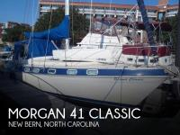 Morgan 41 Classic sailboat in New Bern, North Carolina, U.S.A