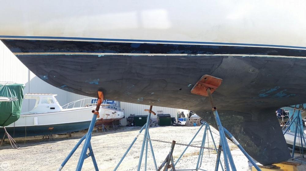 Catalina 30 sailboat in North Kingstown, Rhode-Island-USA