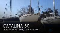 Catalina 30 sailboat in North Kingstown, Rhode-Island-USA