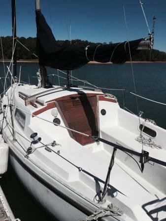 Catalina  sailboat in Atlanta, Georgia-USA