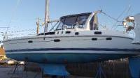 Hunter 450 sailboat in Barrington, Rhode Island, U.S.A