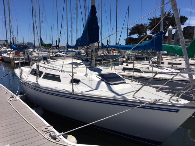 Catalina 270 LE sailboat in Santa Cruz, California-USA