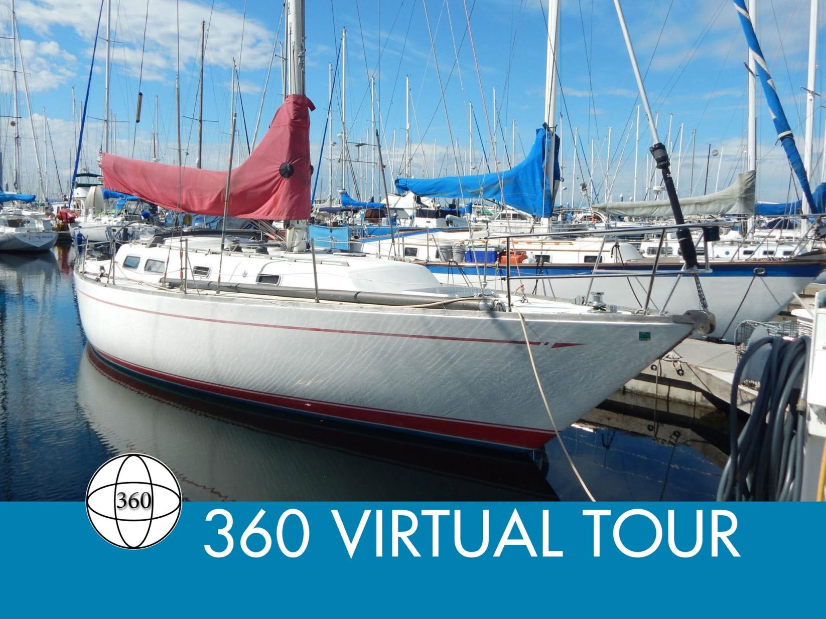 Cal 39 sailboat in Seattle, Washington-USA