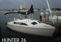 Hunter 260 sailboat in Barrie, Canada