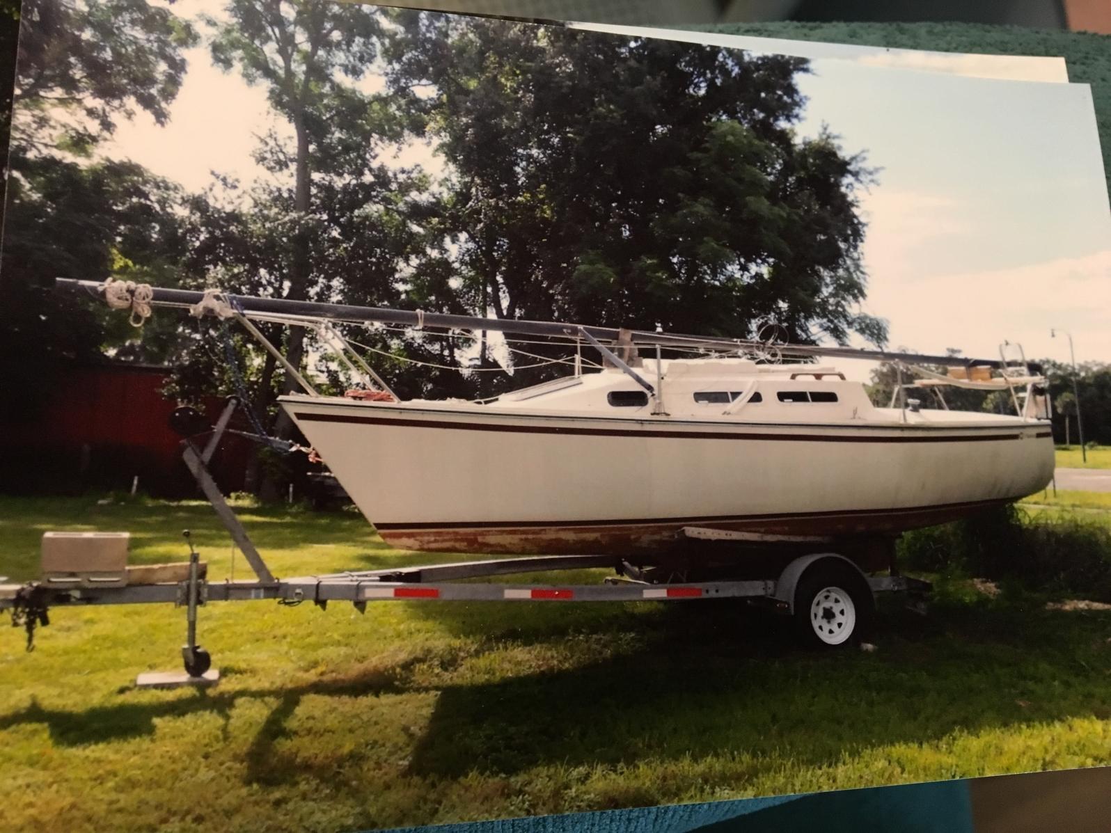 Wellcraft Starwind223 sailboat in Lake County, Fl, Florida, U.S.A