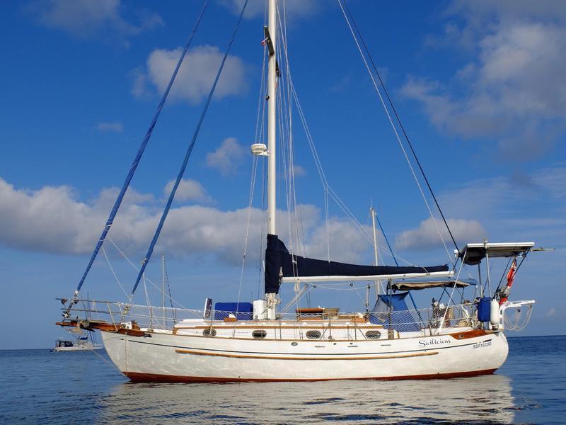 37 sailboat in Miami, Florida, U.S.A